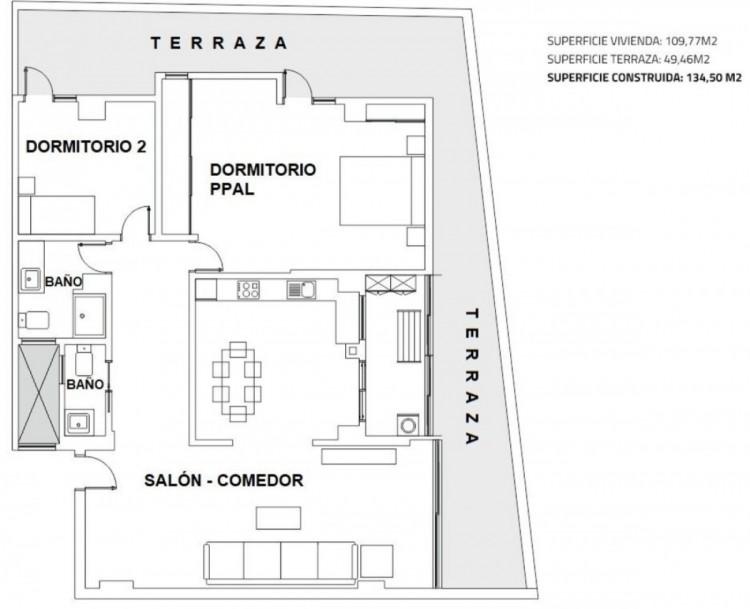 2 Bed  Flat / Apartment for Sale, Las Palmas de Gran Canaria, LAS PALMAS, Gran Canaria - BH-8777-JM-2912 10