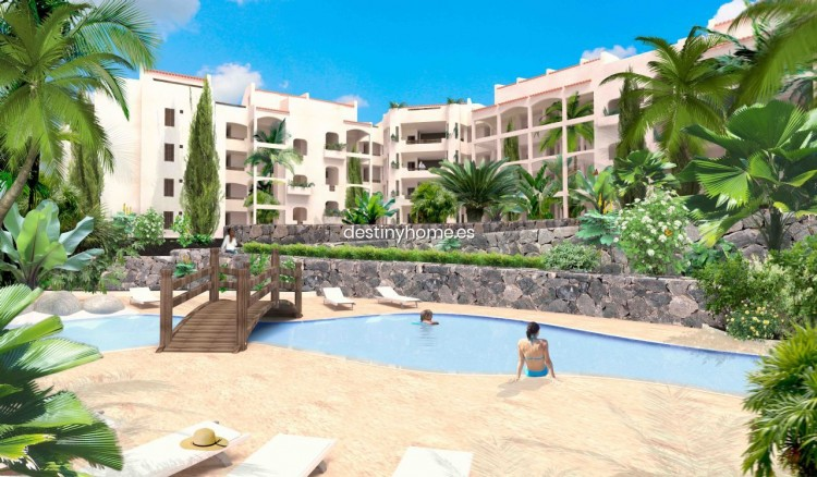 2 Bed  Flat / Apartment for Sale, Palm-Mar, Santa Cruz de Tenerife, Tenerife - DH-VTPROMJARDM2H_06-19 1