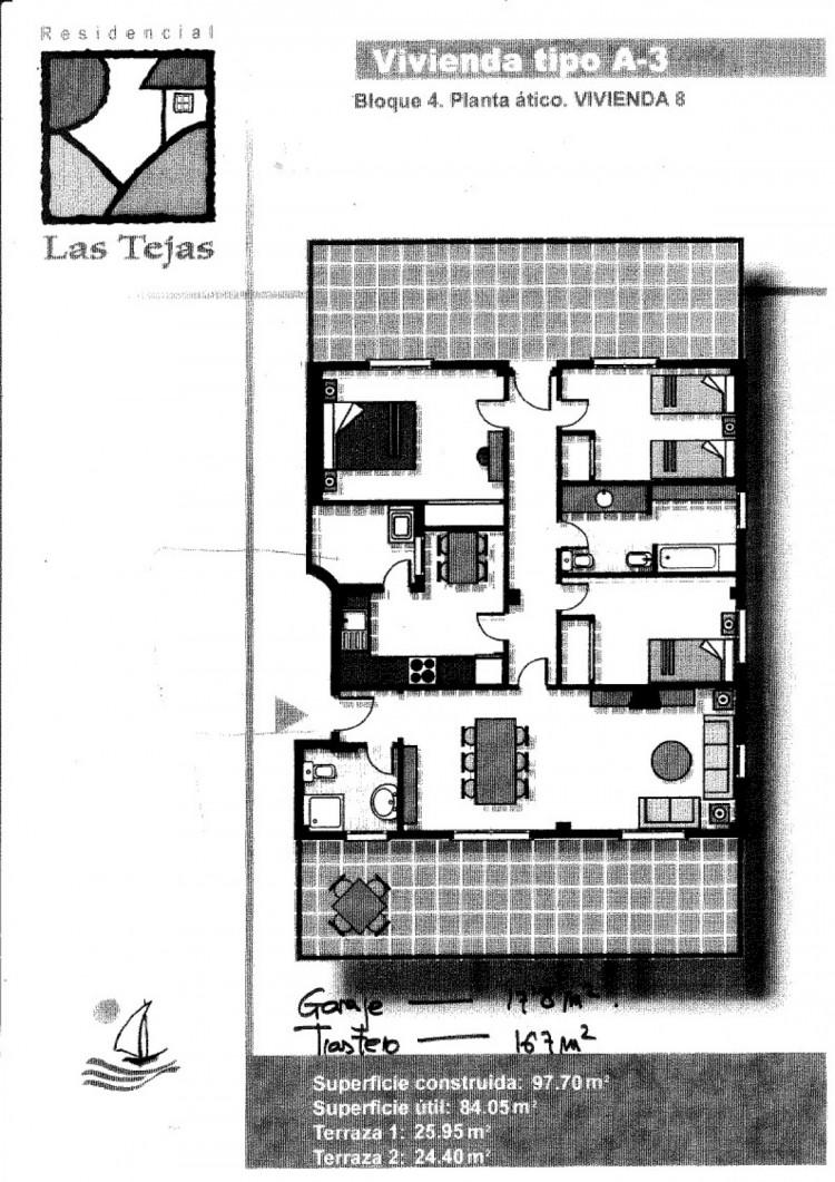 3 Bed  Flat / Apartment for Sale, Mogan, Gran Canaria - CI-2274 17