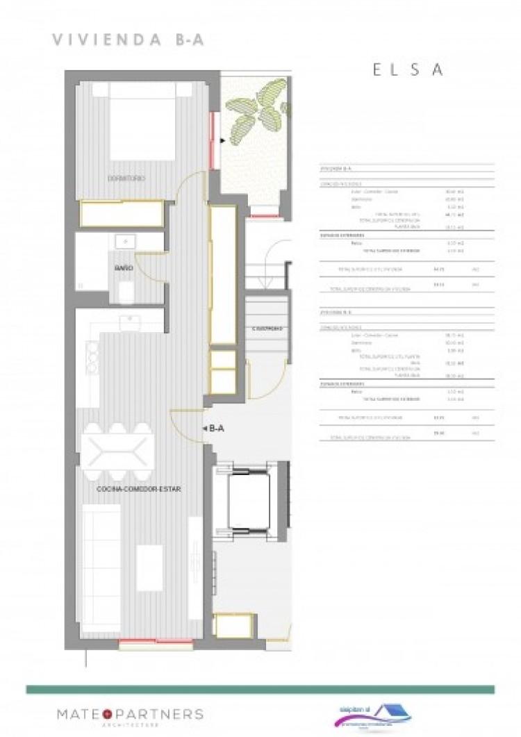 1 Bed  Flat / Apartment for Sale, Puerto De Santiago, Santiago Del Teide, Tenerife - AZ-1395 2