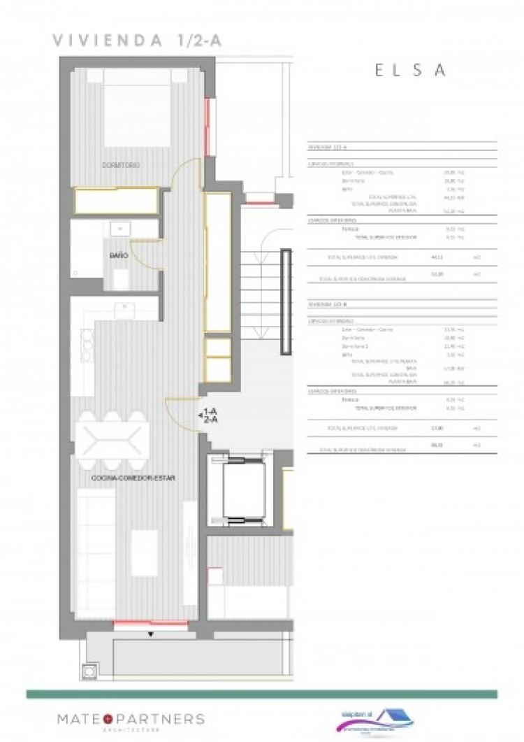 1 Bed  Flat / Apartment for Sale, Puerto De Santiago, Santiago Del Teide, Tenerife - AZ-1395 4