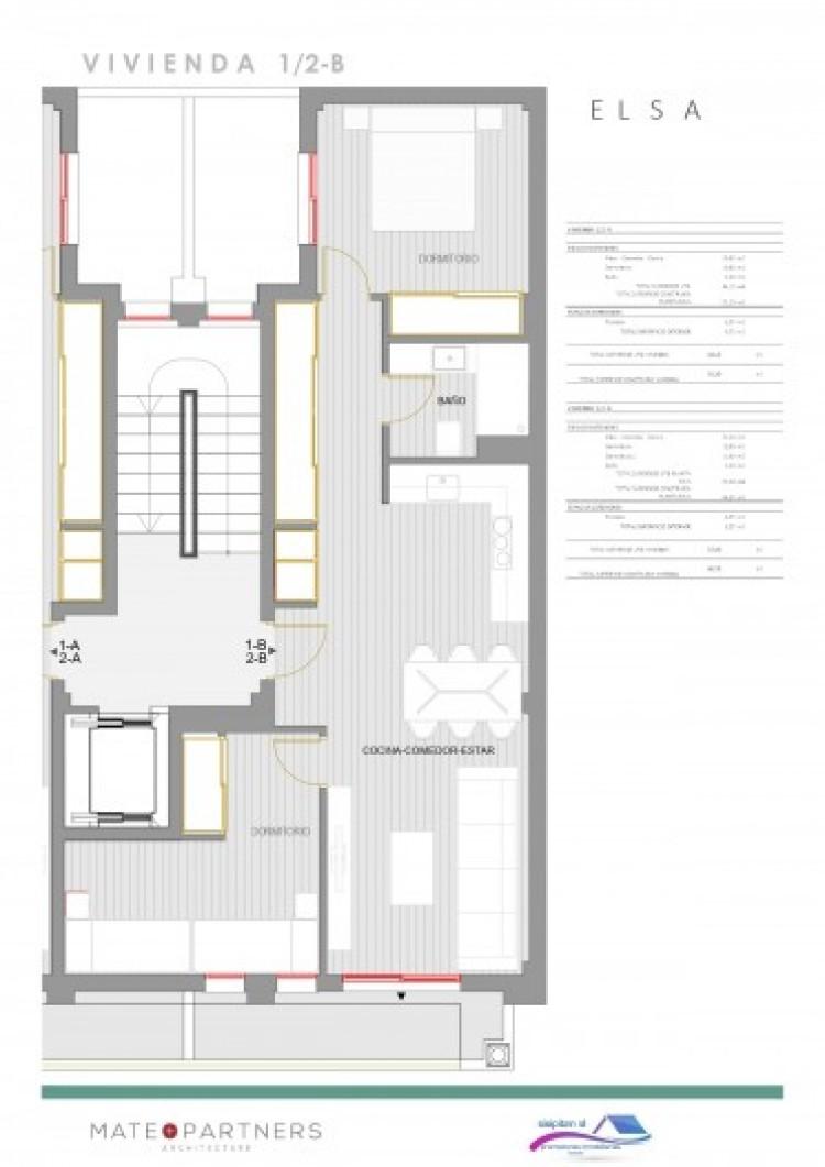 1 Bed  Flat / Apartment for Sale, Puerto De Santiago, Santiago Del Teide, Tenerife - AZ-1395 5