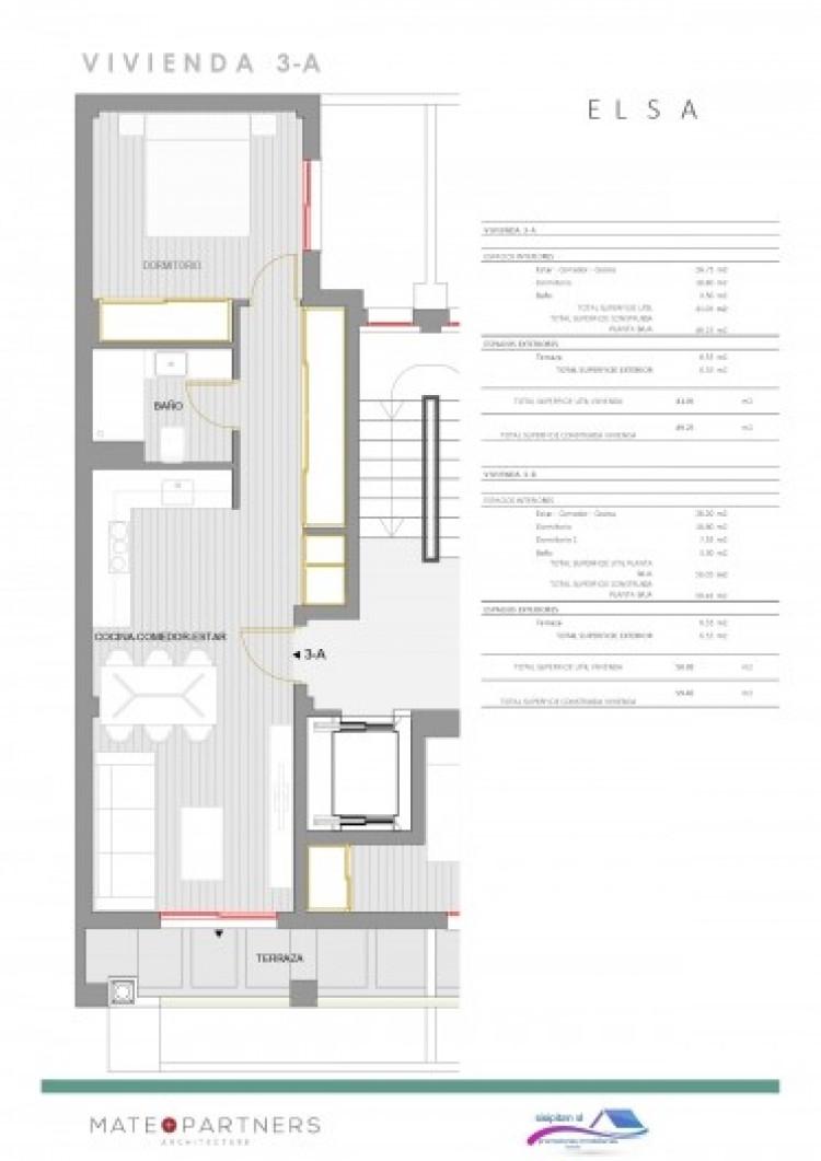 1 Bed  Flat / Apartment for Sale, Puerto De Santiago, Santiago Del Teide, Tenerife - AZ-1395 6
