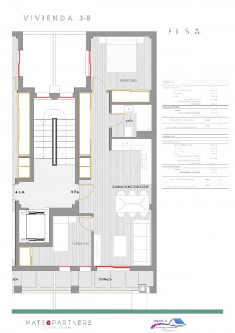 1 Bed  Flat / Apartment for Sale, Puerto De Santiago, Santiago Del Teide, Tenerife - AZ-1395 7