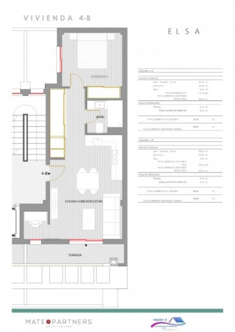1 Bed  Flat / Apartment for Sale, Puerto De Santiago, Santiago Del Teide, Tenerife - AZ-1395 9