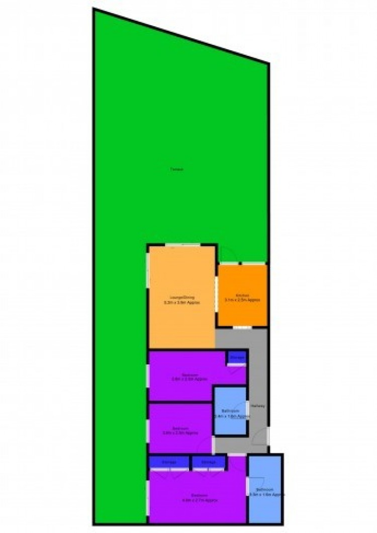 3 Bed  Flat / Apartment for Sale, Playa de San Juan, Santa Cruz de Tenerife, Tenerife - SB-SB-303 8