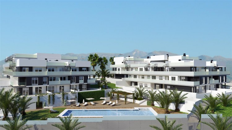 2 Bed  Flat / Apartment for Sale, El Medano, Tenerife - PG-La Tejita Residencial 1