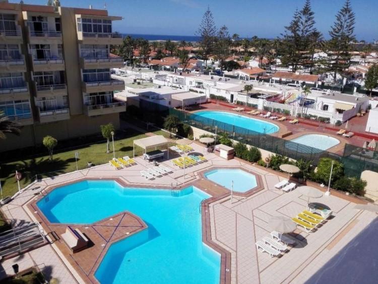 2 Bed  Flat / Apartment to Rent, Las Palmas, Playa del Inglés, Gran Canaria - DI-12713 14